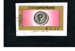 ITALIA REPUBBLICA  -  2004   PRIORITARIA DA 2,20       - USATO ° - 6. 1946-.. Repubblica