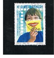 ITALIA REPUBBLICA  -  2004   GIORNATA DELLA FILATELIA  - USATO ° - 6. 1946-.. Repubblica