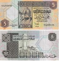 Libye 5 Dinar - Libië