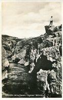 """CAJONES"" 900 MT. MINA CLAVERO, CORDOBA, ARGENTINA. CIRCA 1929 POSTAL POSTCARD B/N TBE -LILHU - Argentinië"