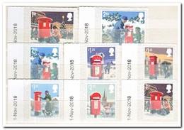 Engeland 2018, Postfris MNH, Christmas, Mailboxes - Ongebruikt