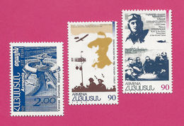 ZARMan92+3 - ARMENIE - Tous Les Timbres émis De La Poste Aérienne Arménienne Entre 1992 Et 1996 - Neufs** - MNH - Arménie