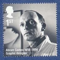 GRANDE BRETAGNE Abram Games Graphiste. - 1952-.... (Elizabeth II)