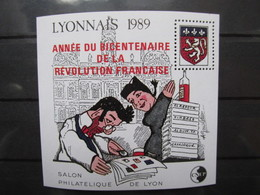 CNEP N° 11 NEUF ** LUXE - LYONNAIS SURCHARGE 1989 - CNEP