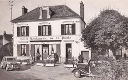 D78  SAINT LÉGER EN YVELINES  Hôtel De La Poste  ...... Avec Superbe 2 CV Citroën - St. Leger En Yvelines