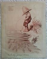 Lot De 2 MENU ANCIEN Restaurant CAFE DE PARIS FOUQUETPRE CATELAN Illustré Par REDON ILLUSTRATEUR Affichette - Menus