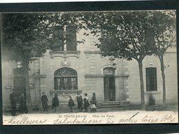 CPA - CHATELAILLON - L'Hôtel Des Postes, Animé - Châtelaillon-Plage