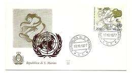 1977 - San Marino 995 Anno Del Reumatismo - FDC - Salute