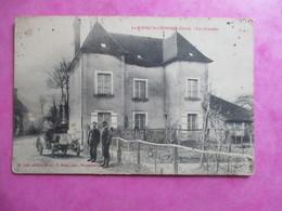 CPA 61 LE BOURG SAINT LEONARD LES ORMEAUX VOITURE ANCIENNE ANIMEE - France