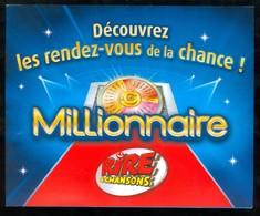 Promo FDJ - Tournée Des Plages 2007 - Avec 41701 Vert Gagnant MILLIONNAIRE - Lottery Tickets