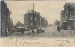 ANS : Rue Walthère Jamar.    Tram-Attelage. - Ans
