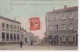 Rhône - Lyon-Montchat - Place De La Reconnaissance Et Rue Charles Richard - France
