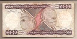 Brasile - Banconota Circolata Da 5000 Cruzeiros P-202b - 1983 - Brésil