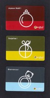 3 Carte Cadeau.   OXYBUL.   Gift Card. - Cartes Cadeaux