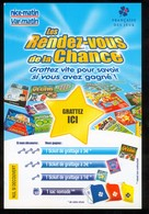 Grattage FDJ - FRANCAISE DES JEUX - Les Rendez-vous De La Chance Non Gratté - Billets De Loterie
