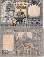 Népal 1 Ruppee - Népal