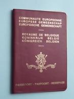 Passeport - PASPOORT - Reisepass ( België / Europe ) GEISSNER Jozsef 19 Fev 1910 ( Zie Foto's ) S N° 244576 ! - Non Classés