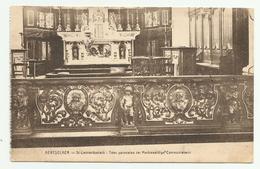 Aartselaar   *  Aertselaer  - St.-Leonarduskerk: Twee Panneelen Der Merkwaardige Communiebank - Aartselaar