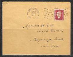 LOT 1812179 - N° 699 SUR LETTRE DE SARREBOURG DU 28/03/52 POUR ALGRANGE - Poststempel (Briefe)