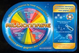 Grattage FDJ - FRANCAISE DES JEUX - Promo Tournée Des Plages 2008 MILLIONNAIRE 41201 - Lottery Tickets