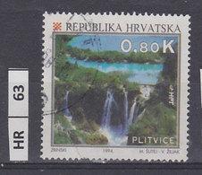 CROAZIA  1994turismo Croato 0,80 K Usato - Croazia