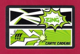 Carte Cadeau.   Pop Culture ZING.   Gift Card. - Cartes Cadeaux