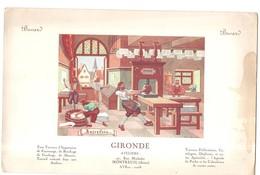 Buvard Imprimerie GIRONDE Ateliers 47, Rue Michelet à Montreuil - Papeterie