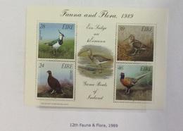 IRLANDE BF 7 Neufs Sans Charnière - 1989 Oiseau Gibier Bloc - Neufs