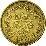 Monnaie, Maroc, Mohammed V, 10 Francs, 1951/AH1371, Paris, TB+, Aluminum-Bronze - Maroc