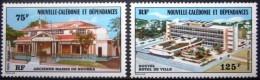 "Nle-Caledonie Aerien YT 174 & 175 (PA) "" Hôtel De Ville "" 1976 Neuf** - Luftpost"