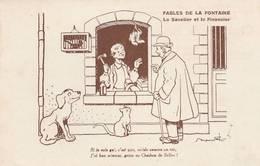 """CPA: """"BENJAMIN RABIER"""" LE SAVATIER ET LE FINANCIER POUR LE CHARBON DE BELLOC MAISON FRÈRES E.VAILLANT & Cie PARIS (75) - Rabier, B."""