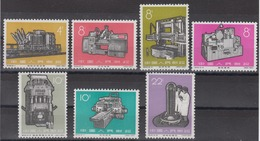 PR CHINA - 1966 New Industrial Machines MNH** VF Short Set - 1949 - ... Volksrepublik