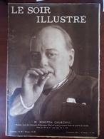 Le Soir Illustré N° 604 Winston Churchill - Athénia - Puissance Maritime De L'empire Britannique - Aube Rouge Guerre... - Livres, BD, Revues