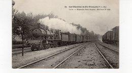 LES CHEMINS DE FER FRANCAIS (P.L.M.) Le 60 - Marseille Pais Rapide Machine N°2667. - Trains