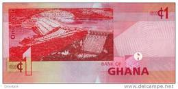 GHANA P. 37b 1 C 2010 UNC - Ghana