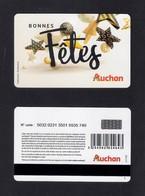Carte Cadeau.   AUCHAN.    Gift Card. - Cartes Cadeaux