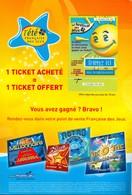 FRANCAISE DES JEUX - VSD Hors Série été 2007 - 41701 Vert Non Gratté + Grille Loto - Lottery Tickets