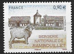 France 2010 N° 4444 Neuf Bergerie Nationale à La Faciale - Neufs