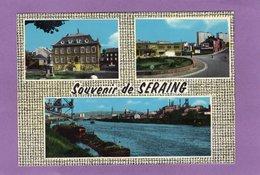 SOUVENIR DE SERAING Multivues Mairie Peniche  Sur La Meuse Rond Point - Seraing
