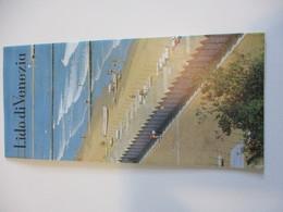 Dépliant Touristique Ancien En Français-Anglais-Allemand-Italien /Italie/Lido Di Venezia//Expo 67   DT43 - Tourism Brochures