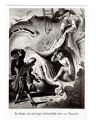 Cpm Freiherr - Conte Légende Illustration Poisson Géant Avale Homme Nu Couteau Hache Coquillage Escargot De Mer - Fairy Tales, Popular Stories & Legends
