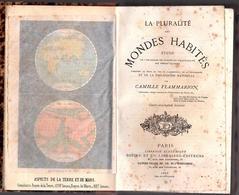 """ASTRONOMIE - """" PLURALITÉ DES MONDES HABITÉS """" Camille Flamarion ( 1876 ) - Astronomie"""