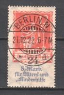Germany Reich 1922 Mi 234 Canceled - Gebruikt