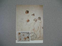 Carte-Maximum 1989   N° 2591 - Maximumkarten