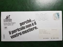 (8864) ITALIA STORIA POSTALE 1998 - 6. 1946-.. Repubblica
