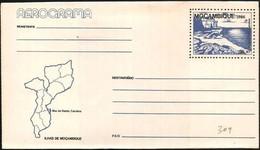 Mozambico/Mozambique: Intero, Stationery, Entier, Isola S. Carolina, île De S. Caroline, Island S. Carolina, Map, Carte, - Isole