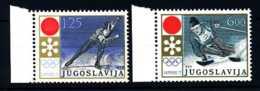 E15597)Olympia 72, Jugoslawien 1447/8** - Winter 1972: Sapporo