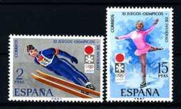E15614)Olympia 72, Spanien 1969/70** - Winter 1972: Sapporo