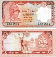Népal 20 Ruppees - Népal