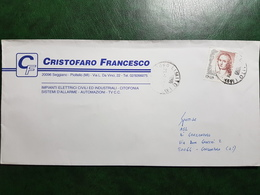 (8868) ITALIA STORIA POSTALE 1998 - 6. 1946-.. Repubblica